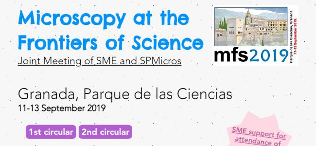 Microscopy at the Frontiers of Science 2019